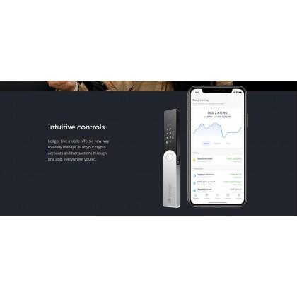 Ledger Nano X Bitcoin Cryptocurrency Hardware Wallet Genuine Original [Ready Stock]