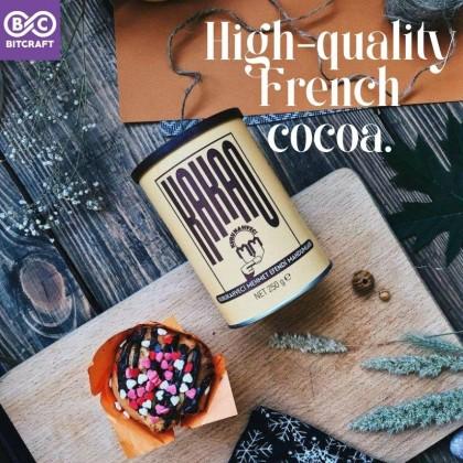 KURUKAHVECI KAKAO Turkish Premium Fine Cocoa Powder 250g Cocoa Drink Pastry Bakery Ice Cream Cake Dessert Serbuk Koko Bitcraft